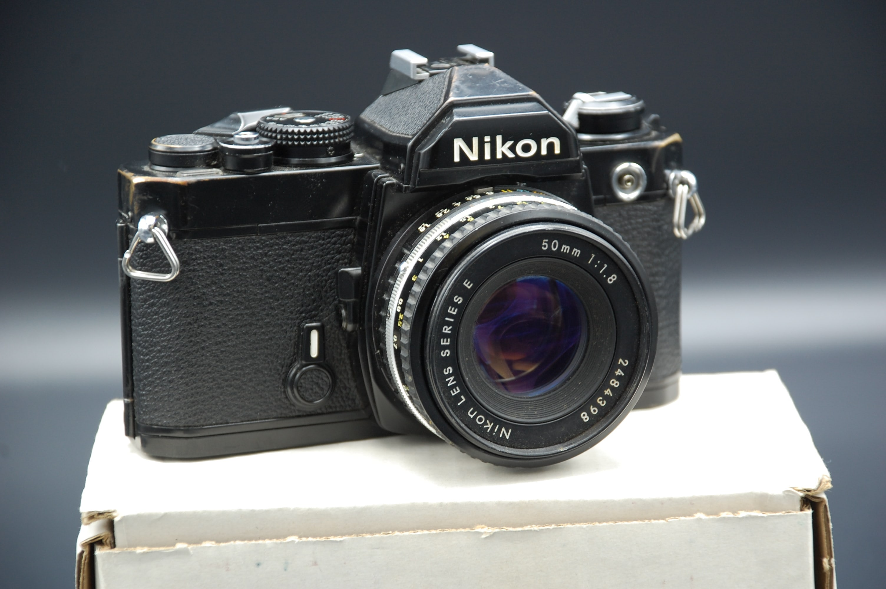 Nikon FM with 50mm Lens -$149.95
